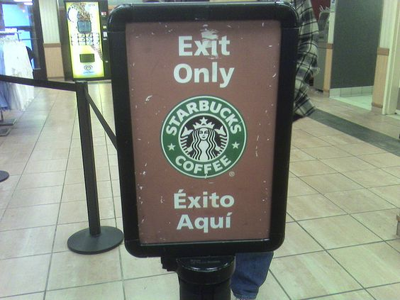 poor brand signage
