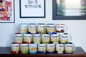 starbucks localized city mugs