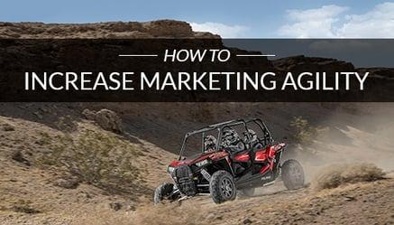 Improve Marketing Agility