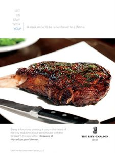 The Ritz-Carlton DEN Steak